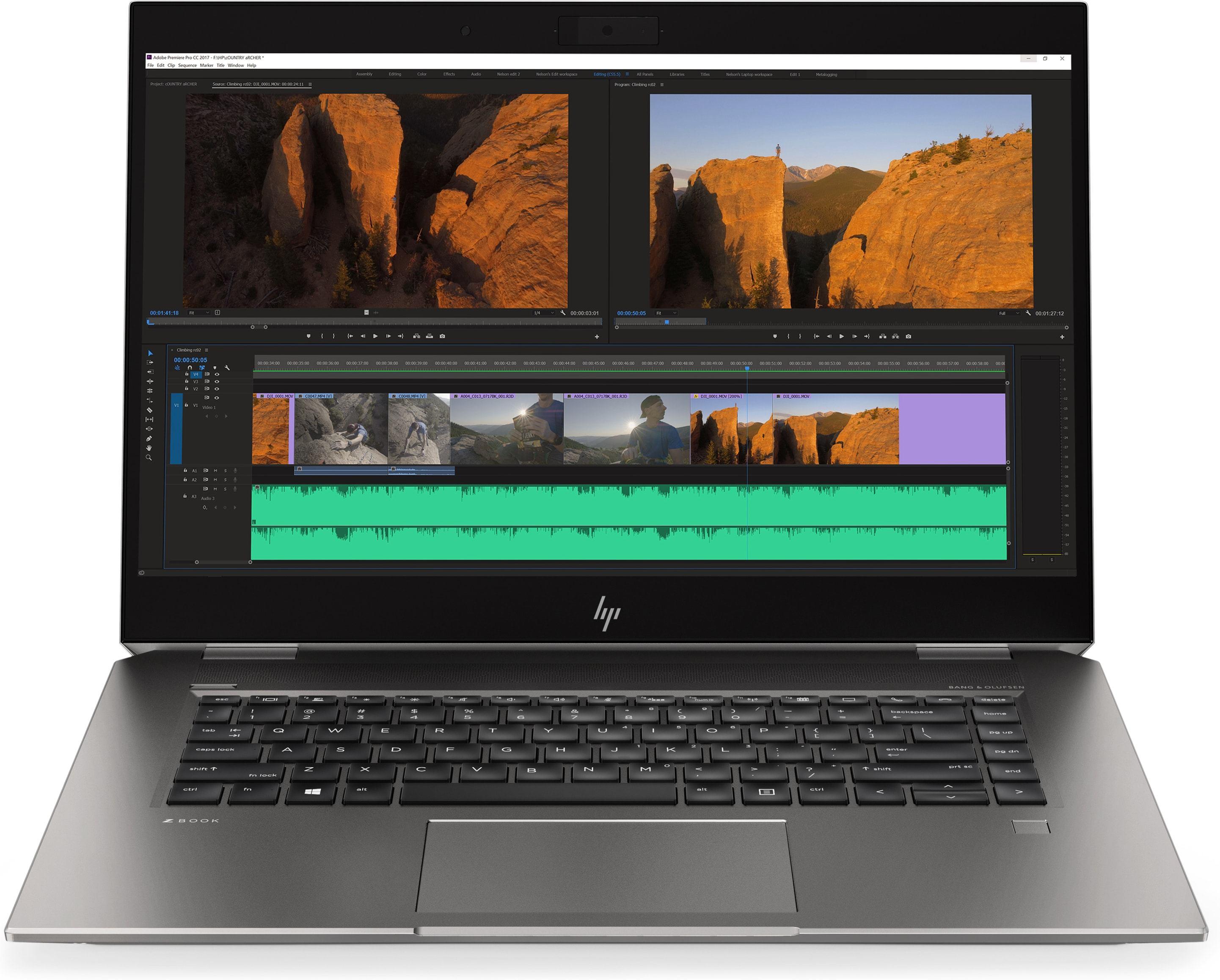 HP ZBook Studio G5 Silver Mobile workstation 39 6 cm [15 6
