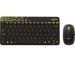 8247c7ac868 Logitech MK240 NANO keyboard RF Wireless Hebrew Black,Yellow (MK240 NANO  WIRELESS KEYB./MOUSE - BLACK/CHARTREUSE-HEB-2.4GHZ-EME EN)